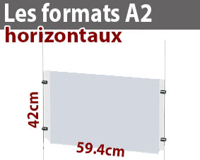 Le format A2 horizontal