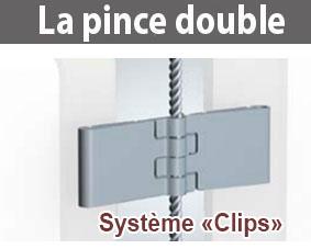 pince double porte affiche (clips)