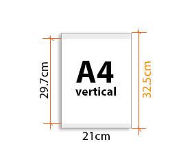 porte affiche magnétique A4V