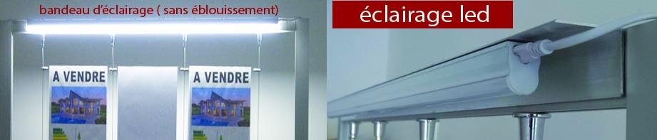 Portique avec dimensions au choix et toute configuration possible (nous consulter) - les portes affiches sont non lumineux