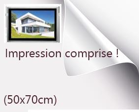 Backlight format 50x70cm