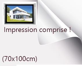 Backlight format 70x100cm