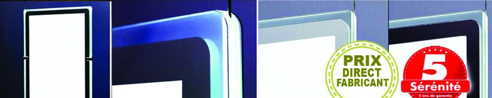 Le modèle porte-affiche vitrine lumineux modèle 2021 -